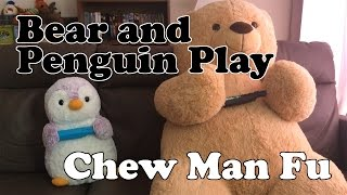 Bear and Penguin Play Chew Man Fu (Episode 1)