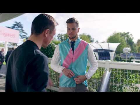 Love Island star Chris Hughes saddles up for QIPCO British Champions Day