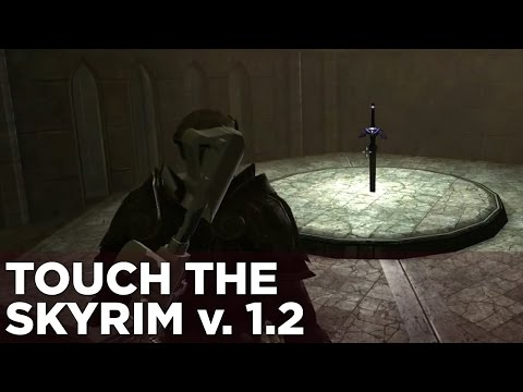 Touch the Skyrim Ep. 3: Nick and Griffin DESTROY TIME
