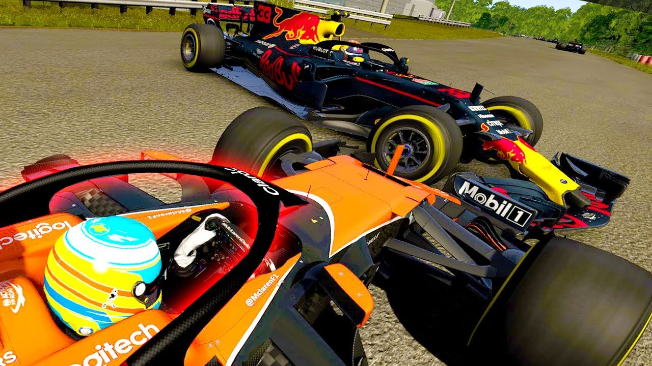 driving an f1 2018 halo spec car around the grand tour track onboard gameplay f1 car with 2018. Black Bedroom Furniture Sets. Home Design Ideas