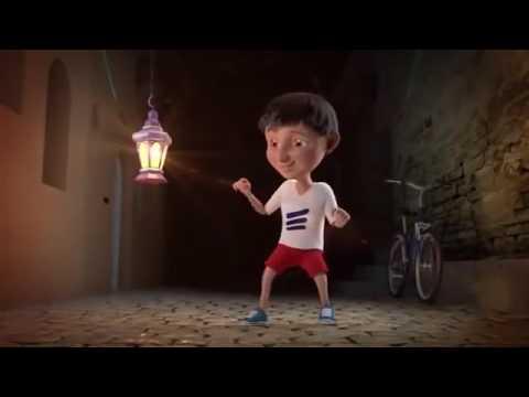 Ramadan Kareem and eid ul fither mubarak 2015 roshni famous cartoon 3d animationipad