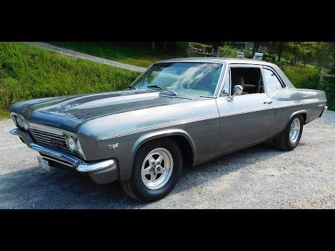 1966 Chevrolet Bel Air Rear Turbo 1500 HP 2016 Drag Week