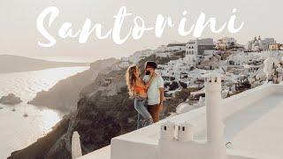 DREAM HONEYMOON TO SANTORINI GREECE (Vlog)