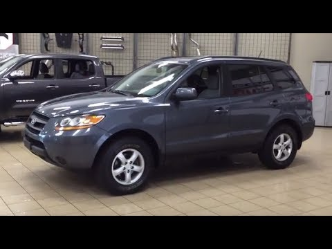 2008 Hyundai Santa Fe Gl Review Youtube