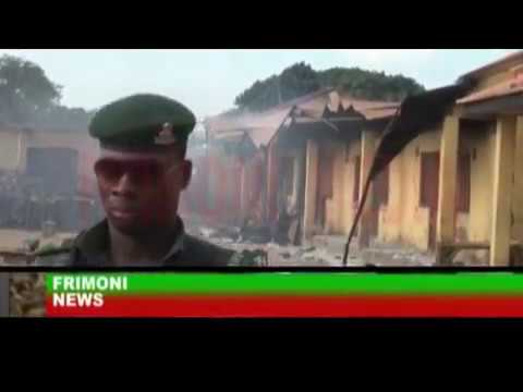 NIGERIA NEWS; SIGHT AND SOUND OF KADUNA CLASH