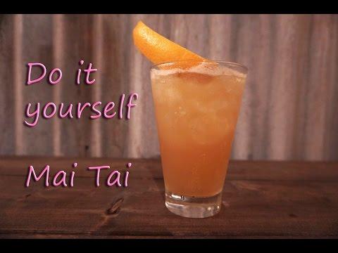 วิธีทำ Mai Tai สูตรต้นตำหรับ ส่งท้ายปีเก่าต้อนรับปีใหม่ 2017!!!