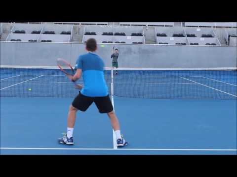 Martyn Icke - College Tennis Recruitment Video - Fall 2017