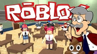 roblox   escape high school mr poopy pants with nettyplays   amy lee33