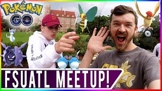 DESTINATION POKEMON GO! YouTuber Meetup with FSUATL & Travel Vlog in Tallahassee, Florida!