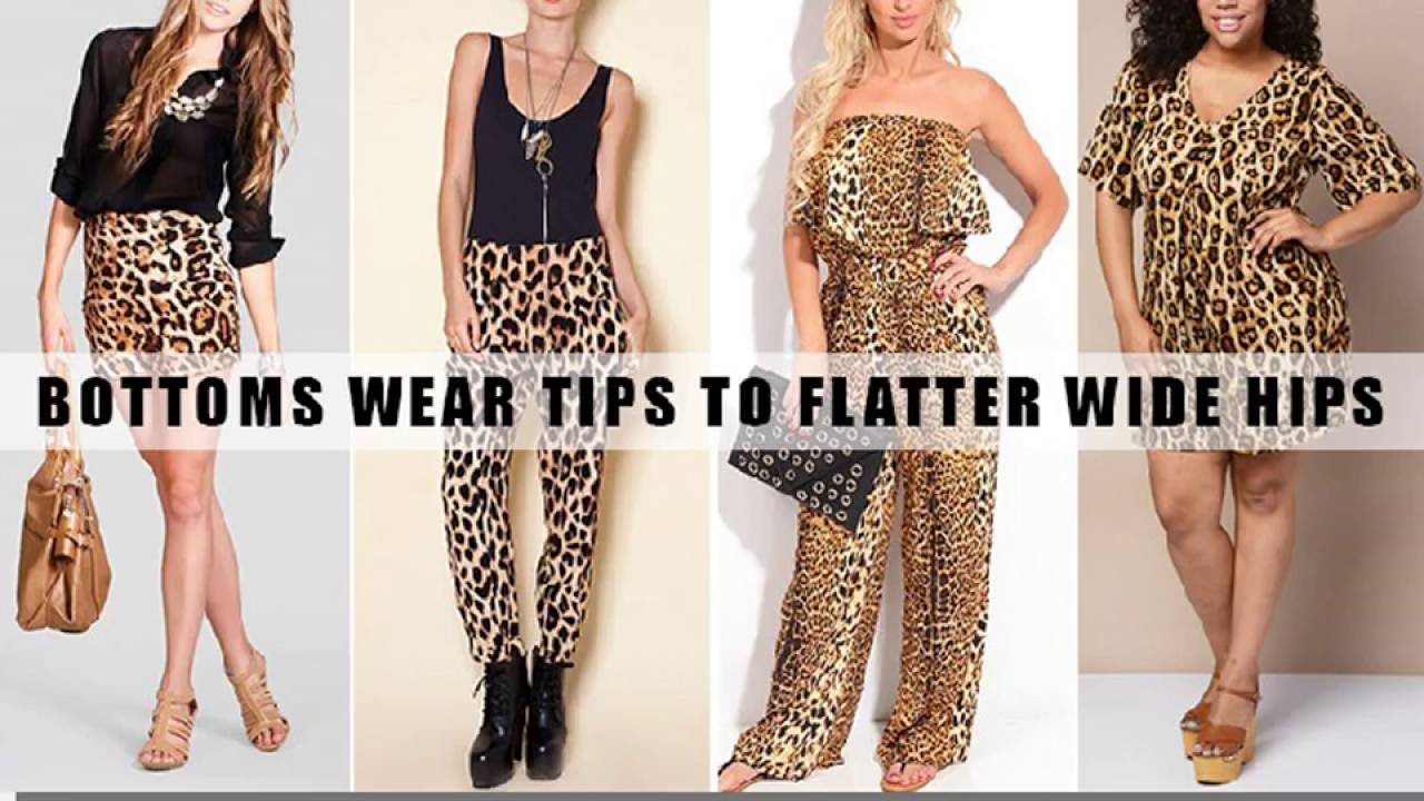 4 Simple Bottoms Wear Tips to Flatter Wide Hips