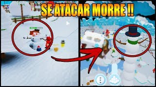 NEVER ATTACK THIS SNOWMAN IN THE SNOWMAN SIMULATOR!! ROBLOX