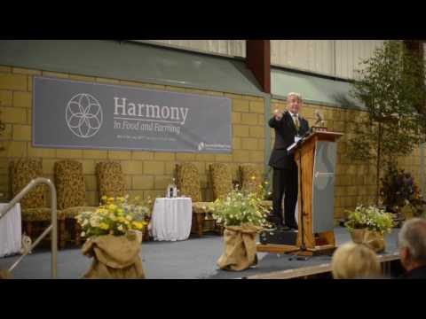 Tony juniper 'Natural Capital' at Harmony in Food and Farming conference 2017