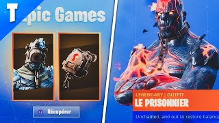 "DÉBLOQUER THE SECRET SKIN ""PRISONNIER"" IN 10 MINUTES ON FORTNITE!"