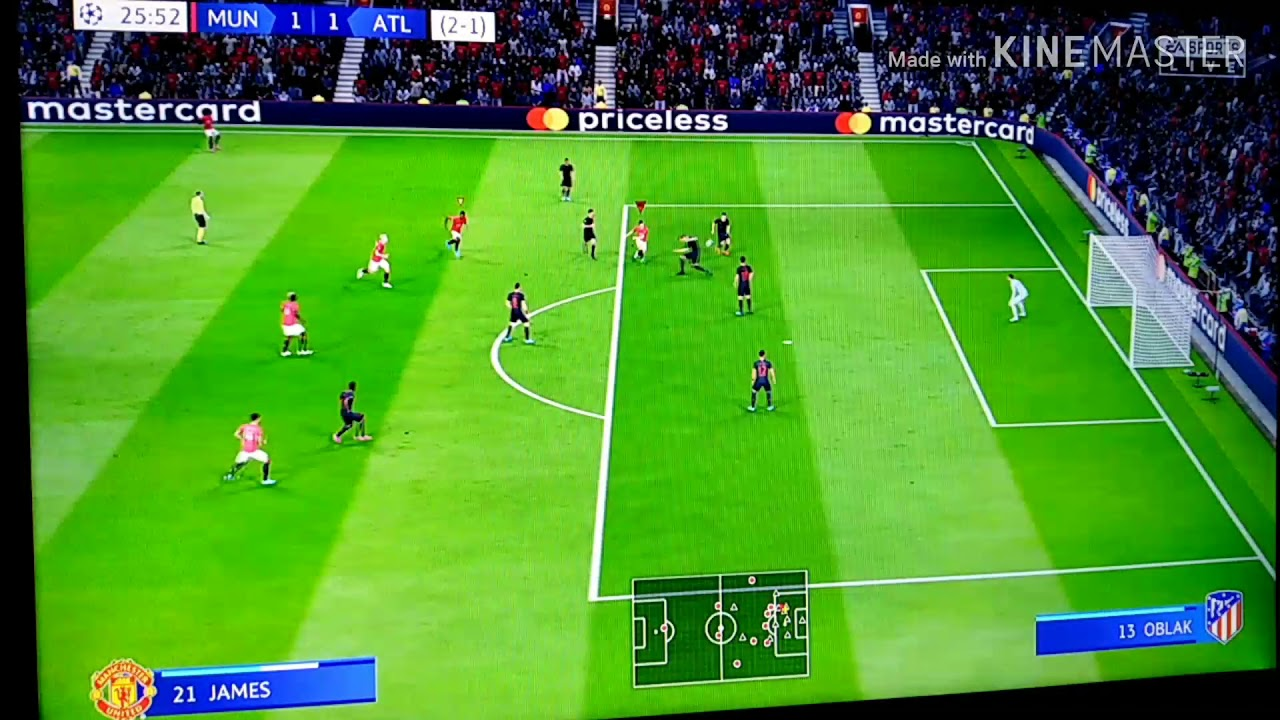 فيفا20|مهنه مدرب#18مع مانشستر يونايتد(دوري ابطال اوروبا ...