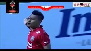 BALI UNITED VS AREMA CRONUS 2-3 Piala Presiden 2015 ~ Leg Kedua