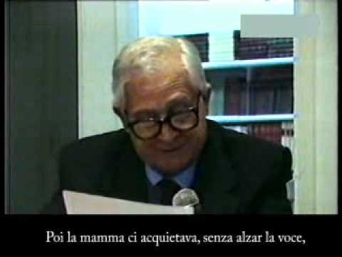 Poesie Di Natale In Dialetto Tarantino.Taranto Poesia D Fedele Intervista E Poesie Per Il Natale 1996 Flv