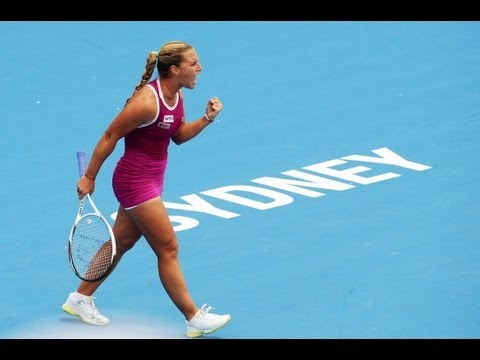 2013 Apia International Sydney Semifinal WTA Highlights