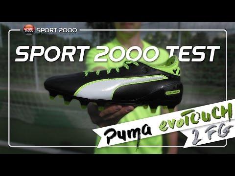 ba095d024 SPORT 2000 TEST - PUMA evoTOUCH 2 FG (Football Shoes) - YouTube