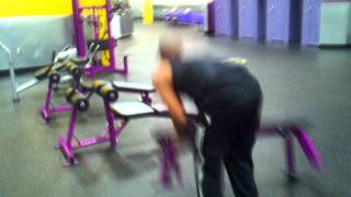 Planet Fitness: Initiate Lunk Alarm