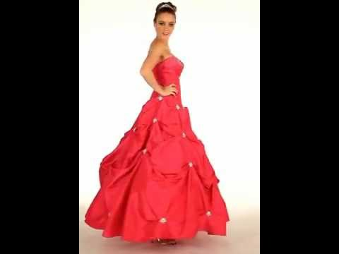 Strapless Homecoming Gown | Gorgeous Military Ball Dress - YouTube