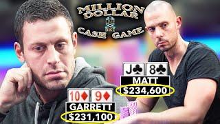 $465,000 at Stake! Garrett Adelstein vs Matt Berkey in Million Dollar Cash Game