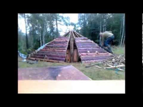 How to build a sauna in the ground part 1 youtube for How to build your own sauna