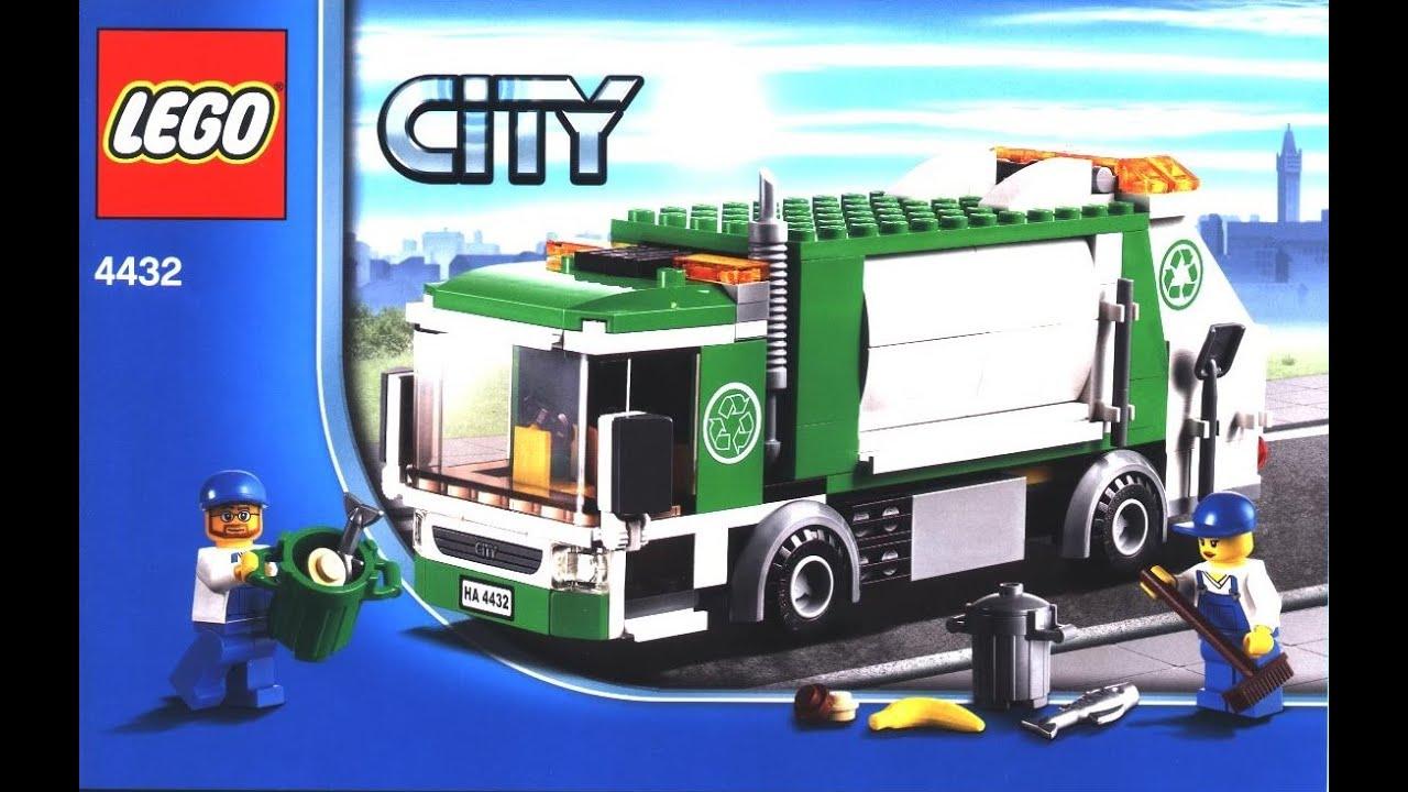 Lego® - City - 4432 - Müllabfuhr - Review Deutsch - YouTube