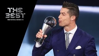 THE BEST FIFA MEN'S PLAYER 2016 - Cristiano Ronaldo WINNER