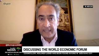 Discussing the World Economic Forum On Africa with Dr Iraj Abedian