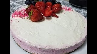 No Bake Classic Cheesecake | How to make cheesecake without baking by Easy Cooking With Shazia