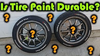 How Durable is Tire Paint?