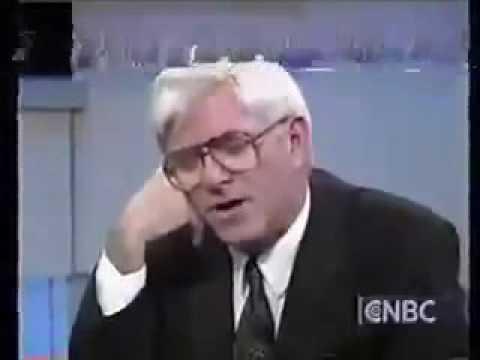Noam Chomsky Vs Phil Donahue FULL Debate