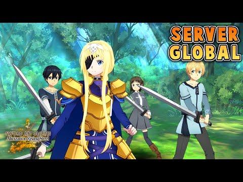 Server Global & Bahasa Inggris - Sword Art Online Alicization Rising Steel (Android)