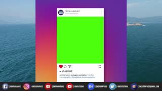 Instagram Green screen | Instagram Animation | Green Screen Motion | @OMER J GRAPHICS