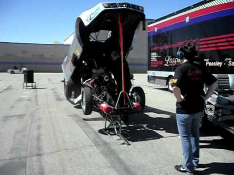 Nitro Pirate Funnycar - Career Day at Cobalt Middle School 006.AVI