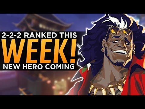 Overwatch: 2-2-2 Ranked Confirmed! - NEW Hero This Week!?