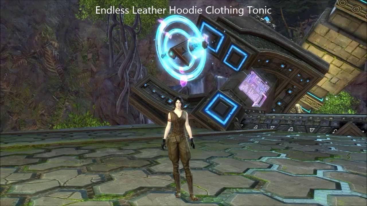 Guild Wars 2 - Endless Clothing Tonics (Human Female)