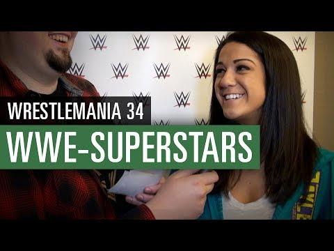 Sasha Banks, Bayley, Finn Bálor & Jinder Mahal im Interview // WWE 2K18