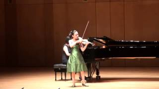 Bruch Violin Concerto No.1 - 이윤서, 대관령음악제 (LEE YOON SEO, 10yrs old)