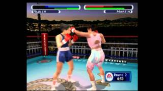 Knockout Kings 2001 - PS2 - Lucia Rijker vs Christy Martin