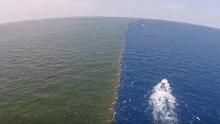 मिलके भी नहीं मिलते ये समुद्र| The phenomenon where different sea waters meet but do not mix