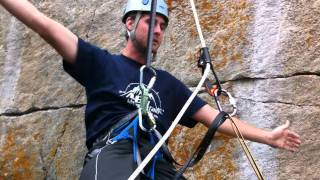 Big Mountain Adventure How to Ascend a Rope