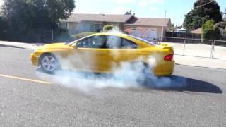 Supercharged LS1 GTO burnout!