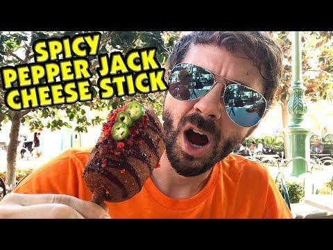 Spicy Pepper Jack Corn Dog Cheese Stick - Disney California Adventure Halloween