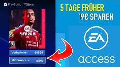 FIFA 20 EA Access Tutorial Ps4 😍