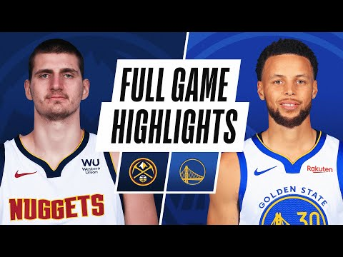 NUGGETS at WARRIORS | FULL GAME HIGHLIGHTS | December 12, 2020