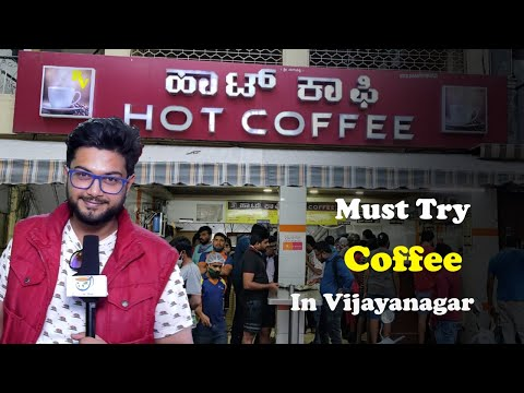 Hot coffee in Vijayanagar | Must try eatery in BANGALORE! Masala Chai Food Review