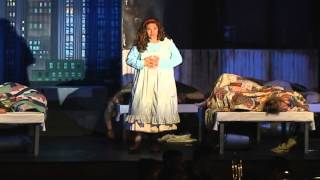 Carly O'Brien - As ANNIE Singing