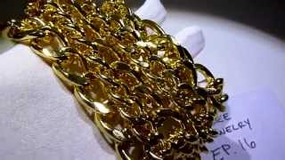 """(Closed)Free Jewelry Ep.16 Guess a# from 1-1000 win """"2"""" Lab Made Gold Vintage-Style 36"""" Cuban Chains"""