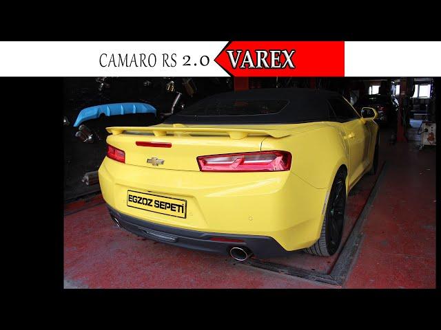 CAMARO RS 2.0 EGZOZ SESİ